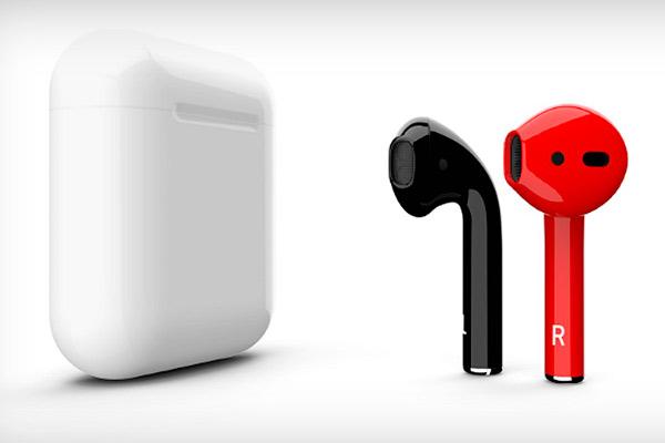 Беспроводные наушники Apple Airpods black черные