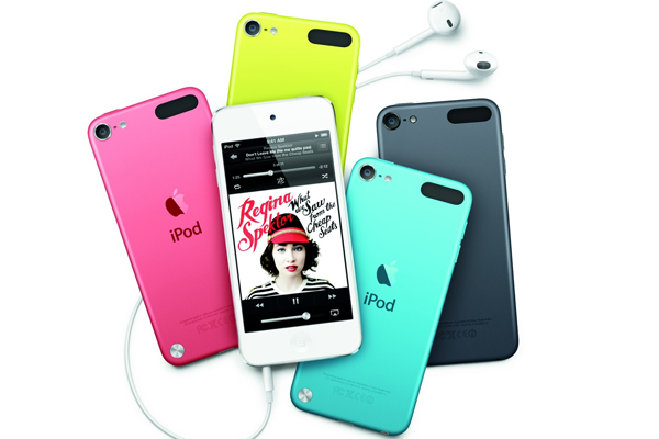 iPod Touch 5 работа с календарем