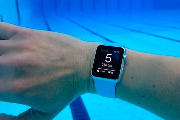 Apple Watch Series 3 водонепроницаемый тест что показывает