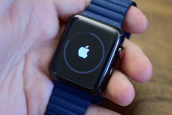 Apple Watch зависли на яблоке как это исправить