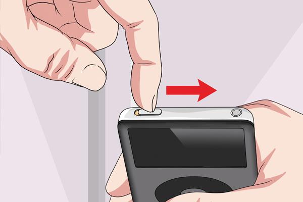 Как выключить iPod Classic