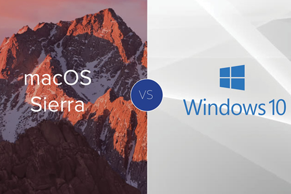 Mac OS или Windows 10