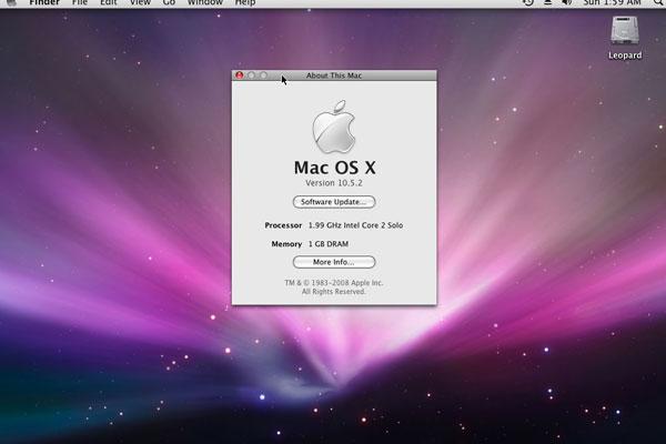 Операционная система на МакБуке