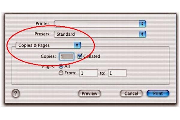 как распечатать на МакБуке.