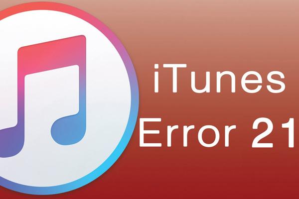 iTunes ошибка 21