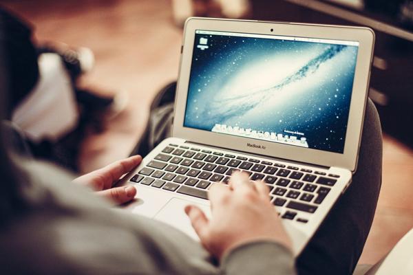 Снимок экрана Mac OS