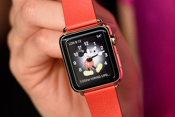 Не говорит Микки Маус на Apple Watch