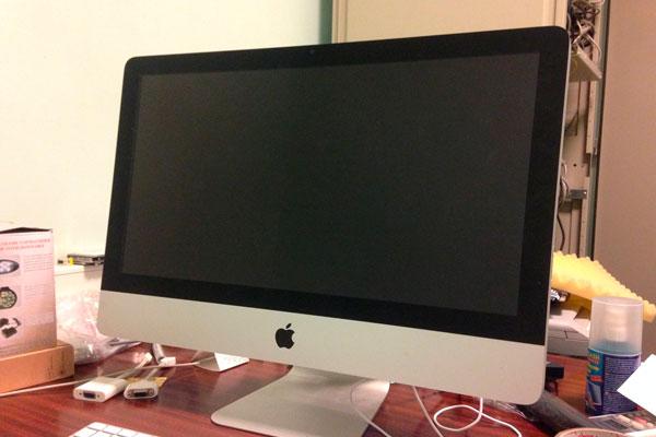Не запускается iMac