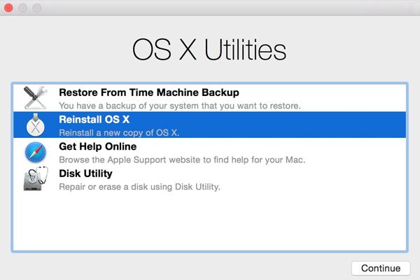 Mac OS дисковая утилита