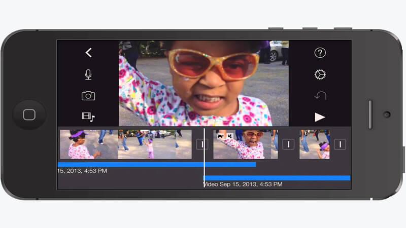 iMovie наложить музыку на видео