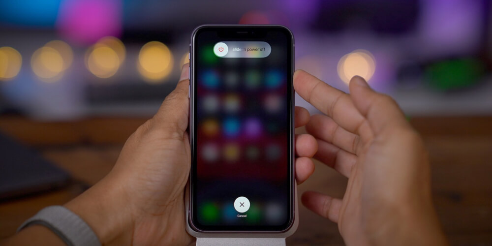 Как самостоятельно выключить iPhone 11