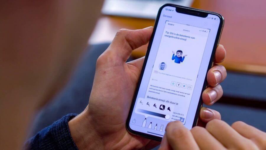 как делать скрин на iphone 11